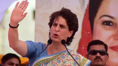 कांग्रेस महासचिव प्रियंका गांधी वाड्रा ने कहा-अमेठी से रिश्ता राजनीतिक नहीं