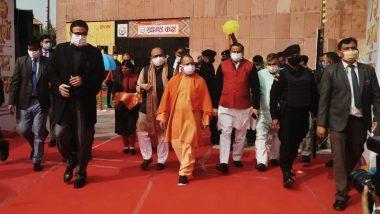 सीएम योगी ने दी गौतमबुद्ध नगर को 700 करोड़ की 80 परियोजनाओं की बड़ी सौगात