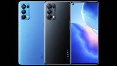 Oppo Reno 5 Pro 5G स्मार्टफोन भारत में हुआ लॉन्च, 64MP कैमरे और 65W की फास्ट चार्जिंग सहित बेहतरीन फीचर्स से है लैस