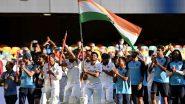 ऐतिहासिक जीत के बाद टीम इंडिया ने तिरंगा लेकर इस तरह मनाया जीत का जश्न
