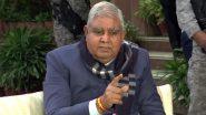 राम मंदिर निर्माण के लिये पश्चिम बंगाल के राज्यपाल एवं उनकी पत्नी ने 5 लाख एक रुपये दिये