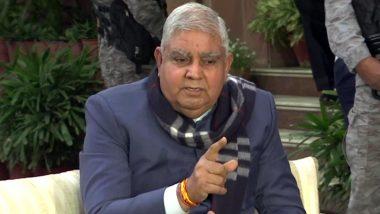 गृह मंत्री अमित शाह से मुलाकात के बाद गवर्नर जगदीप धनखड़ बोले- वेस्ट बंगाल में बम बनाने की फैक्ट्रियां खुल गई हैं
