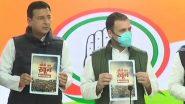 Farmers Protest: कृषि कानूनों के खिलाफ कांग्रेस ने जारी किया Booklet, राहुल गांधी ने मोदी सरकार को लेकर कही ये बात