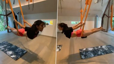 Sara Ali Khan Workout Video: सारा अली खान का एरियल योगा वीडियो देख फैंस हुए हैरान, आपने देखा?