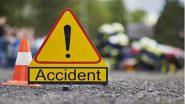उत्तर प्रदेश: भदोही जिले में ट्रक से जाकर टकराई एम्बुलेंस, 5 की मौत