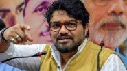 BJP सांसद और पूर्व केंद्रीय मंत्री बाबुल सुप्रियो का राजनीति से संन्यास, फेसबुक पर की घोषणा