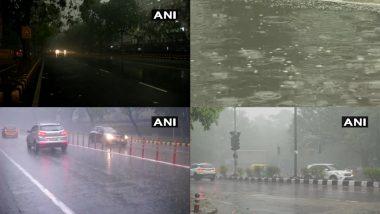 Delhi Weather News: राष्ट्रीय राजधानी दिल्ली के अधिकतर हिस्सों में बारिश के साथ गिरे ओले, छाया घना कोहरा