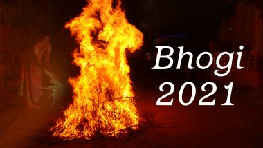 Happy Bhogi 2021 Messages and HD Images: Wish your loved ones happy with these WhatsApp Stickers, GIF Images, Wallpapers