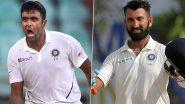 Ind vs Eng: टेस्ट सीरीज से पहले अश्विन ने पुजारा को दिया ओपन चैलेंज, कहा- ऑफ स्पिनर की गेंद पर छक्का लगाते ही आधी दाढ़ी-मूंछ हटवा दूंगा