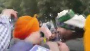 सिंघू बॉर्डर पर  कांग्रेस सांसद रवनीत सिंह बिट्टू के विरोध में लगे गो बैक के नारे