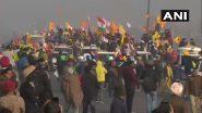 Famers Tractor Rally: युवा किसानों ने बैरीकेड हटा कर, तेज आवाज में डीजे बजाते हुए किया दिल्ली में प्रवेश