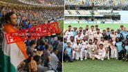 Fact Check: टीम इंडिया की ऑस्ट्रेलिया के खिलाफ ऐतिहासिक जीत के बाद गाबा स्टेडियम में गूंजे थे 'वंदे मातरम' के नारे? जानिए वायरल Video की सच्चाई