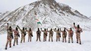 ITBP : आईटीबीपी ने 17,000 फीट पर मनाया गणतंत्र दिवस