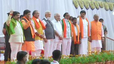 Karnataka Cabinet Expansion: कर्नाटक में येदियुरप्पा मंत्रिमंडल का हुआ विस्तार, 7 नए मंत्रियों ने ली शपथ