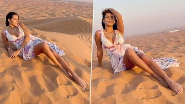 Playboy Model Luana Sandien ने दुबई में कपड़े उतारकर करवाया हॉट फोटोशूट, मिल रही हैं धमकियां