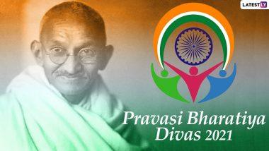 Pravasi Bharatiya Divas 2021 Wishes: विदेशी धरती पर बसे भारतीयों को इन NRI Day Quotes, Greetings, Whatsapp Stickers, GIFs, Images के जरिए दें बधाई
