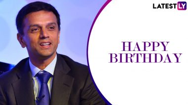 Happy Birthday Rahul Dravid: आज 48वां जन्मदिन मना रहे हैं राहुल द्रविड़, यहां पढ़ें उनके वो आंकड़े जो हर युवा बल्लेबाज को करते हैं प्रेरित