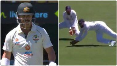 IND vs AUS 4th Test 2021: गाबा में रोहित शर्मा ने कैच पकड़ने के लिए लगाई चीते जैसी छलांग, देखें वीडियो