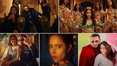 Saiyaan Ji Music Video: हनी सिंह-नेहा कक्कड़ के गाने 'सैयां जी' में दिखा नुसरत भरुचा का हॉट अंदाज, देखें ये दिलचस्प म्यूजिक वीडियो