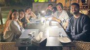 KL Rahul और Athiya Shetty ने Robin Uthhappa के घर किया डिनर, देखें स्पेशल Pic