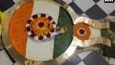 Republic Day 2021: Shivalinga decorated in tricolor in Chandreshwar Mahadev temple in Rishikesh, Uttarakhand, see the beautiful picture