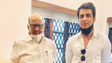Sonu Sood ने शरद पवार से की मुलाकात, अवैध निर्माण मामले में आज होनी है सुनवाई
