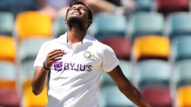 IND vs AUS 4th Test 2021: अपनी गेंदबाजी से ब्रिस्बेन में छा गए नटराजन, किया ये कारनामा