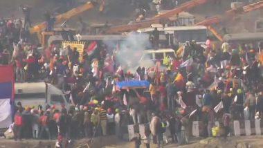 Farmers' Tractor Rally: दिल्ली हिंसा में 86 पुलिसकर्मी घायल, अलग- अलग पुलिस स्टेशनों में कई  FIR दर्ज
