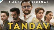 Tandav Controversy: वेब सीरीज 'तांडव' के सीन्स में मेकर्स ने किया बदलाव लेकिन नहीं थम रहा शो से जुड़ा बवाल