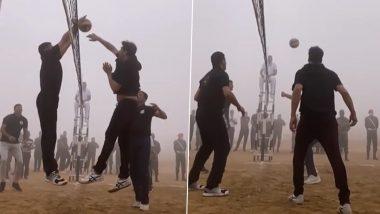 Akshay Kumar ने Army Day 2021 पर सेना के जवानों के साथ खेला वॉलीबॉल, देखें Video