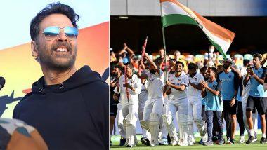 IND vs AUS 4th Test 2021:टीम इंडिया की शानदार जीत पर Akshay Kumar नेये स्पेशल मैसेज लिखकर जताया गर्व