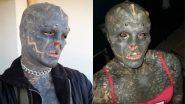 Black Alien की तरह दिखने के लिए शख्स ने अपने पूरे शरीर पर बनवाया टैटू, वायरल तस्वीरें देख उड़ जाएंगे आपके होश