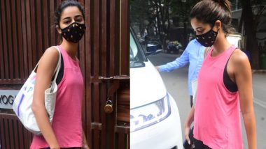 Ananya Panday Hot Photos: योगा करने पहुंची अनन्या पांडे ने दिखाया अपना दिलचस्प अंदाज, पिंक टॉप में लुक कर देगा इम्प्रेस