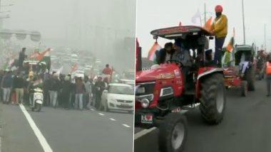 Farmers Protest: सरकार के साथ अगले दौर की बातचीत से पहले किसानों का प्रदर्शन तेज, आवाजाही के लिए ये रूट बंद