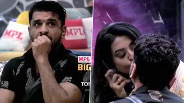 Bigg Boss 14: एजाज खान ने पवित्रा पुनिया की किया प्रोपोज, Kiss करके रिश्ते पर लगाईं मुहर (देखें Romantic Video)