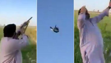 Viral Video: चिड़िया का शिकार करना शिकारी को पड़ा भारी, घायल पक्षी के ऐसे सिखाया सबक