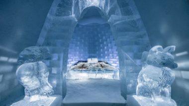 Unique Ice Hotel: दुनिया के इस देश में है बर्फ से बना अनोखा आइस होटल, सर्दियां बीतने पर पिघल कर बन जाता है पानी