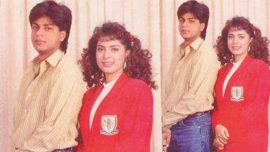 Juhi Chawla ने शाहरुख खान के साथ 90 के दशक की खास फोटो की शेयर, पूछा ये सवाल