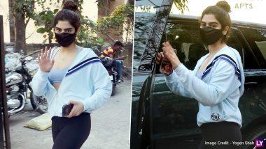 Khushi Kapoor Hot Pics: श्रीदेवी की छोटी बेटी खुशी कपूर बॉलीवुड डेब्यू से पहले जिम में बहा रही हैं पसीना, देखें ये हॉट तस्वीरें