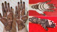Eid Mehendi Designs 2021: ईद-उल-फितर पर अपने हाथों में रचाएं खूबसूरत मेहंदी, वीडियो में देखें लेटेस्ट डिजाइन्स