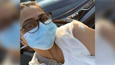 Coronavirus Vaccine लगवाने के बाद शिल्पा शिरोड़कर ने शेयर की फोटो, कहा- अब सुरक्षित हूं