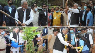 Chhattisgarh: मुख्यमंत्री भूपेश बघेल ने बीजापुर में खेला वॉलीबॉल, अन्य खेलों का भी लिया आनंद, खिलाड़ियों का बढ़ाया हौसला