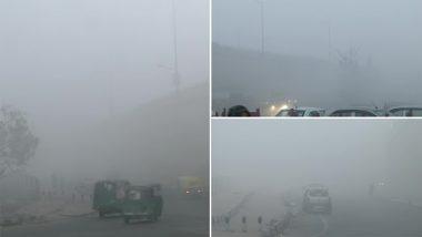 Delhi Weather: दिल्ली-एनसीआर में छायी कोहरे की मोटी धुंध, जनवरी अंत तक जारी रहेगी शीतलहर