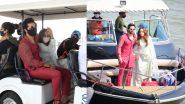 अपनी दुल्हनिया लेकर Varun Dhawan लौटे मुंबई, देखिए खूबसूरत जोड़े की Latest Photos और Video