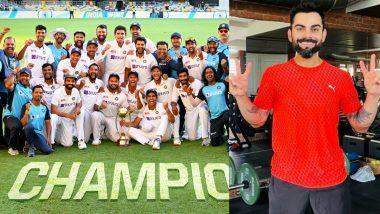 IND vs AUS 4th Test 2021: टीम इंडिया की जीत के बाद कप्तान कोहली हुए जज्बाती, सचिन-हरभजन भी हुए इमोशनल