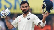 इंस्टाग्राम पर 100 मिलियन फोलोअर पाने वाले पहले भारतीय क्रिकेटर बने कोहली