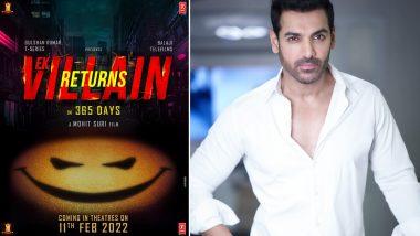 John Abraham ने फिल्म Ek Villain Returns का पोस्टर किया शेयर, कहा- इस कहानी का हीरो ही विलेन है