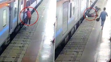 लखनऊ स्टेशन पर महिला यात्री की कॉन्स्टेबल विनीता कुमारी ने बचाई जान, Video Viral
