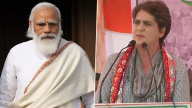 Mathura Kisan Mahapanchayat: प्रियंका गांधी का PM पर बड़ा हमला, कहा-प्रधानमंत्री मोदी दुनिया के हर कोने तक पहुंच पाए लेकिन दिल्ली बॉर्डर तक नहीं पहुंचे