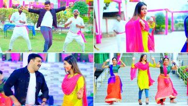 भोजपुरी सुपरस्टार Pawan Singh के नए होली सॉन्ग का इंटरनेट पर धमाका, Dimple Singh संग किया हॉट डांस, देखें Video